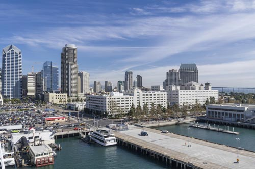 Cityscape of San Diego California