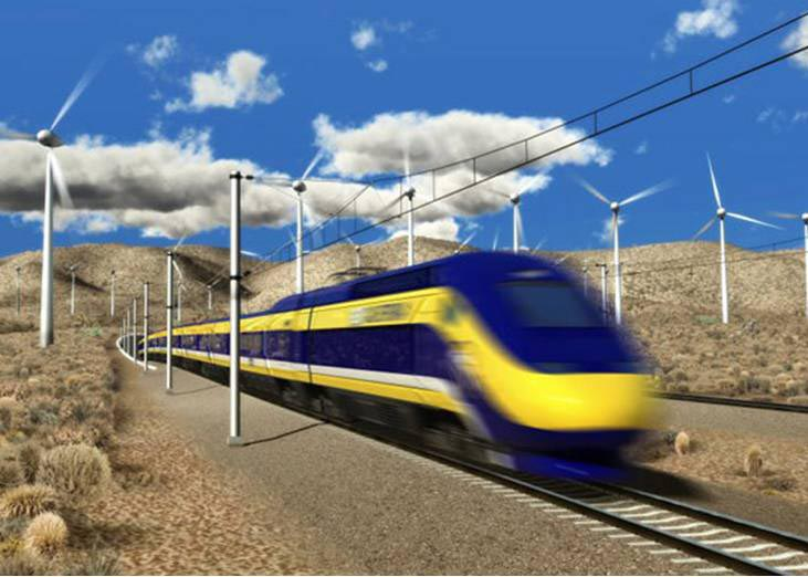 High Speed Rail Back in the News