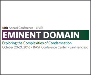 Northern California Conference on Eminent Domain