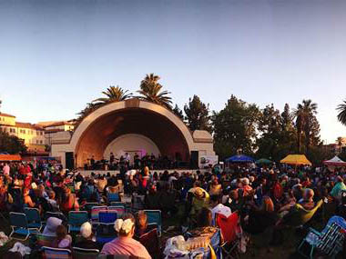 Free Summer Concert Series In Pasadena